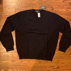 Brooks Brothers Country Club V Neck Sweater